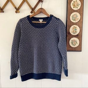 L.L. Bean • Thick Knit Sweater